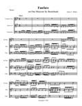 Fanfare on One Measure by Buxtehude